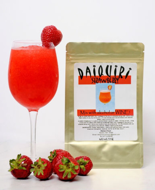 Strawberry Daiquiri wine slush mix