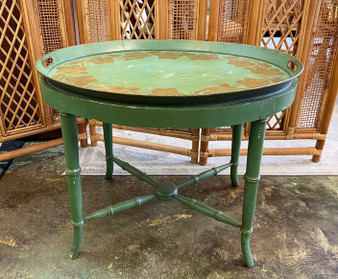 Rustic Tray Table