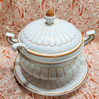 Hand Painted in Portugal Soup Tureen