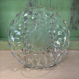 Fostoria Footed Glass Plate