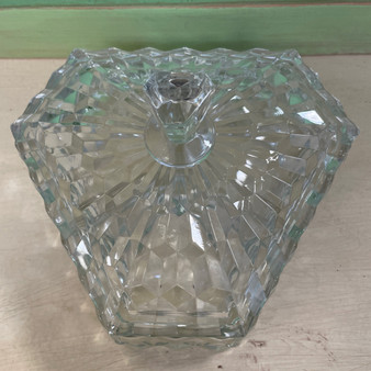 Fostoria Divided Covered Candy Dish