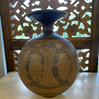 California Pottery Sphere Vase by SDW Design West