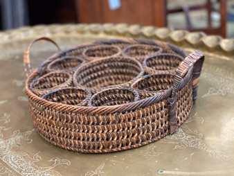 Wicker Drink Tray