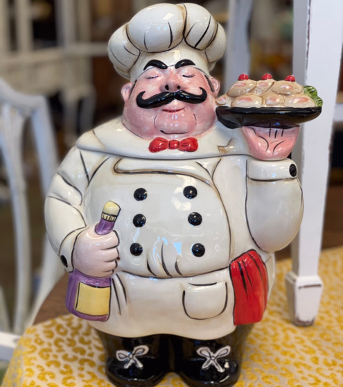 French Chef Cooke Jar