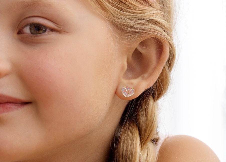 Plastic Earrings For Kids Safe For Earring Allergies Blomdahl Usa