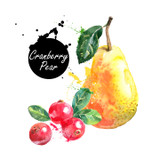 This versatile Cranberry Pear White Balsamic is clean and tart with a lovely deep blush of cranberry and crisp-fruity notes of pear. It has an amazingly complex bouquet that shines in a multitude of culinary applications.