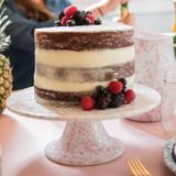 Splatterware Cake Platters