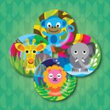 Kids Jungle Plates