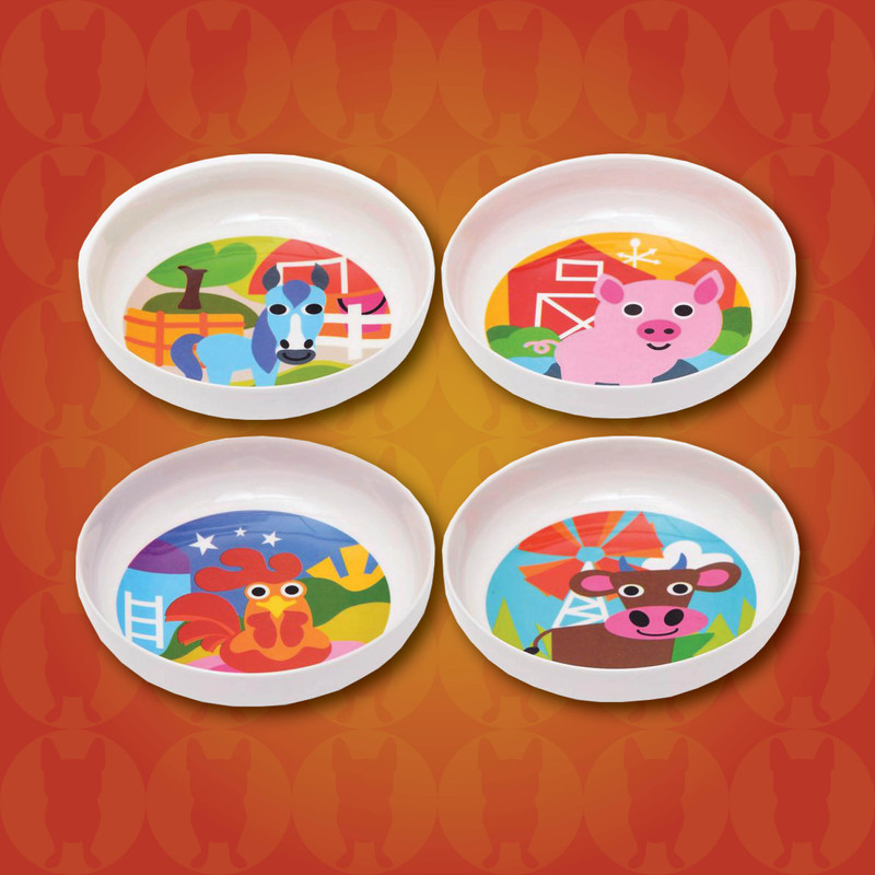 Kids Farm Bowls