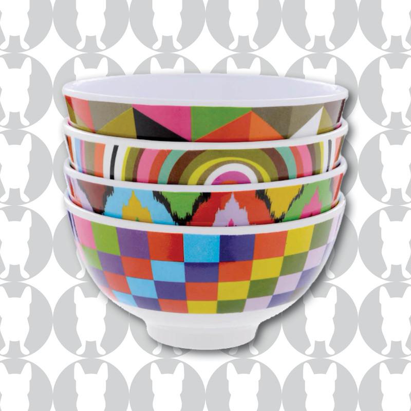 Graphic Mini Bowls