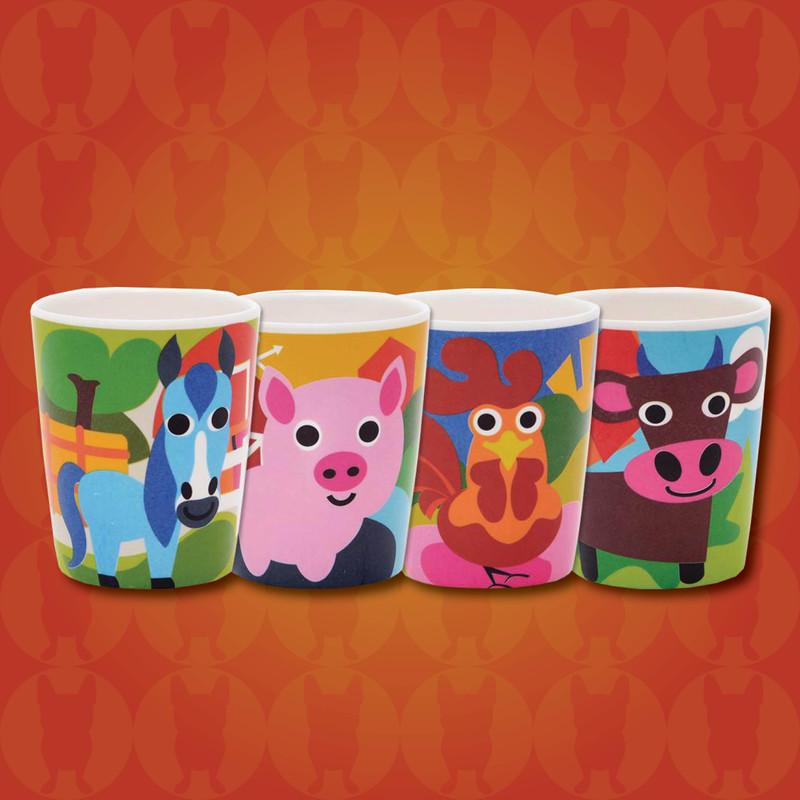 Kids Farm Cups