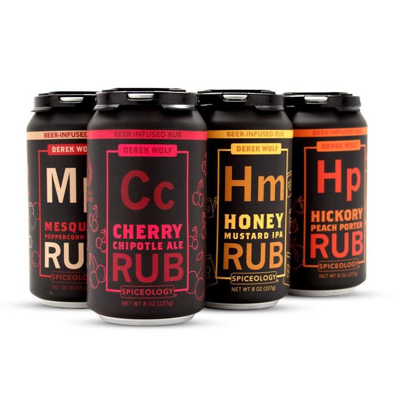 Beer-Infused Rub 6 pack