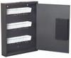 Hercules Ke1302-60 Electronic Lock Key Cabinet, Holds 60 Keys, 13 X 2.5 X 17, Steel, Silver Vein
