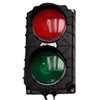 """""""Stop & Go"""" Signal Light Drone Unit.  No flasher or toggle switch; incandescent bulbs. Lights activated by customer supplied relays. 12VDC. Black housing."""