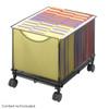 Onyx Mesh Rolling File Cube