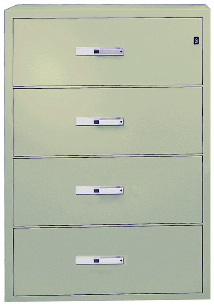 Phoenix 4 Drawer World Class Lateral Fire File (3 Colors)