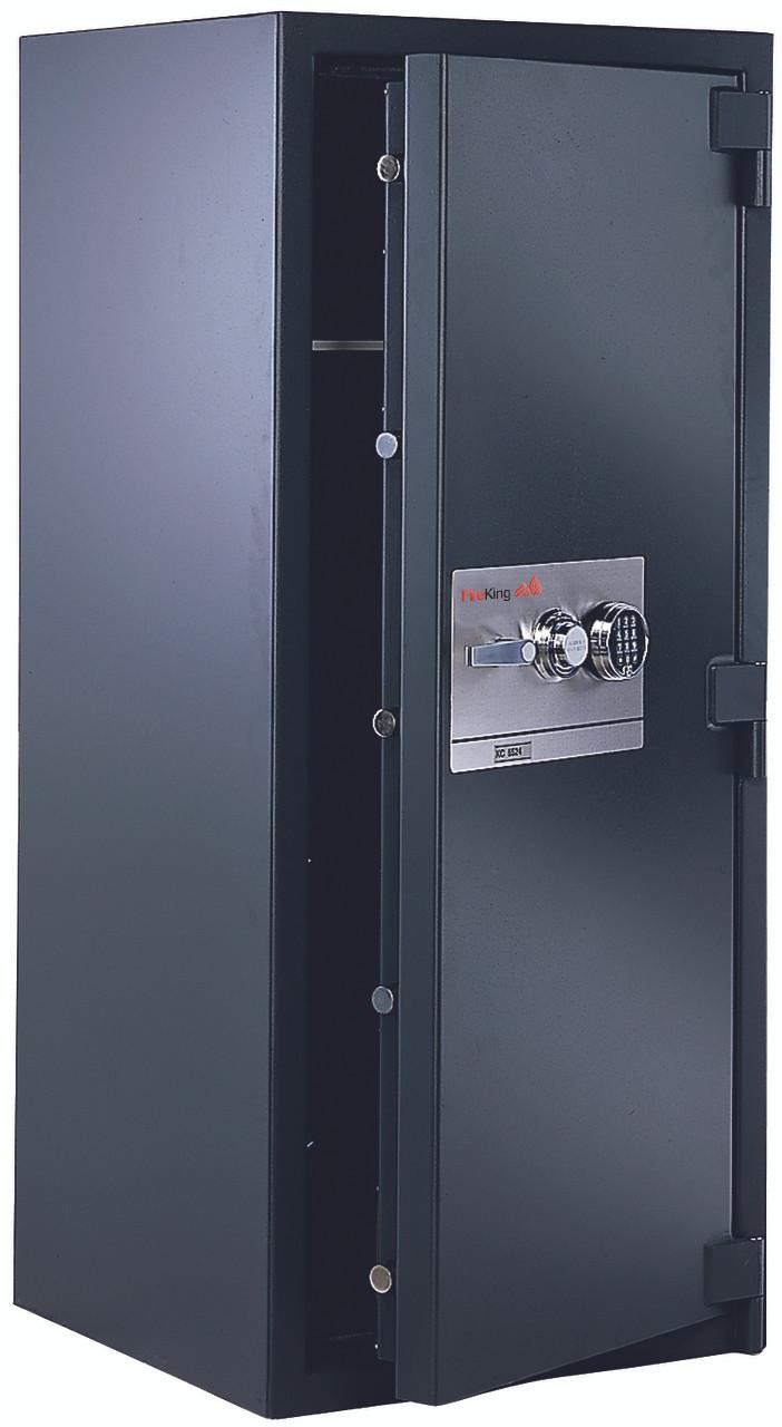 FireKing 1-Hour Fireproof 13.1 cu. ft. Burglary Security Safe, Dial Combination Lock KC4524-ZTA