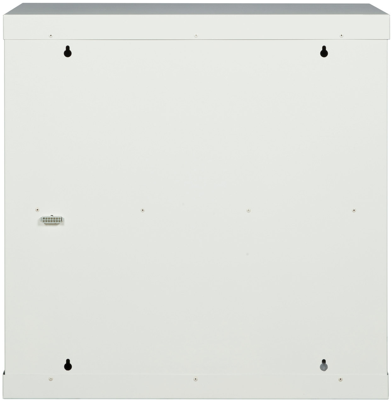 "FireKing FireKing Electronic Lock Medical Storage Cabinet, 24.1"" x 14.2"" x 24.1"" - Anti-theft, Digital Card Reader, Divider, Electronic Lock, Hanging Rail - Arctic White - Steel-24MSC-ELRWT"