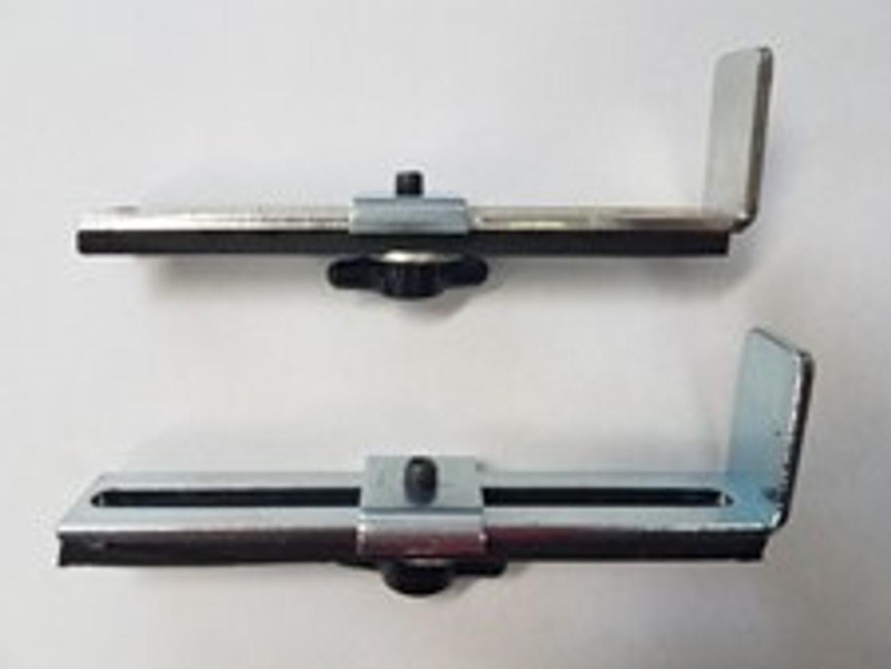 Staplex Adjustable Backstop Set (left and right) for Model S-630NHL and S-630NFS. Made in USA