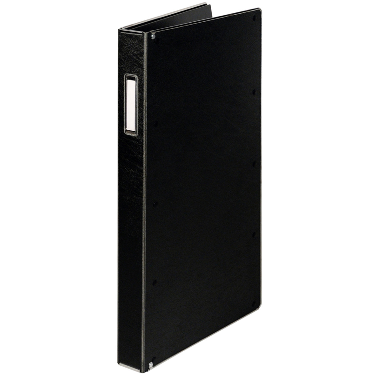 "Record Book- 85100-Record Book Dual Hinge For 8"" x 5"" Forms-100 Pockets"