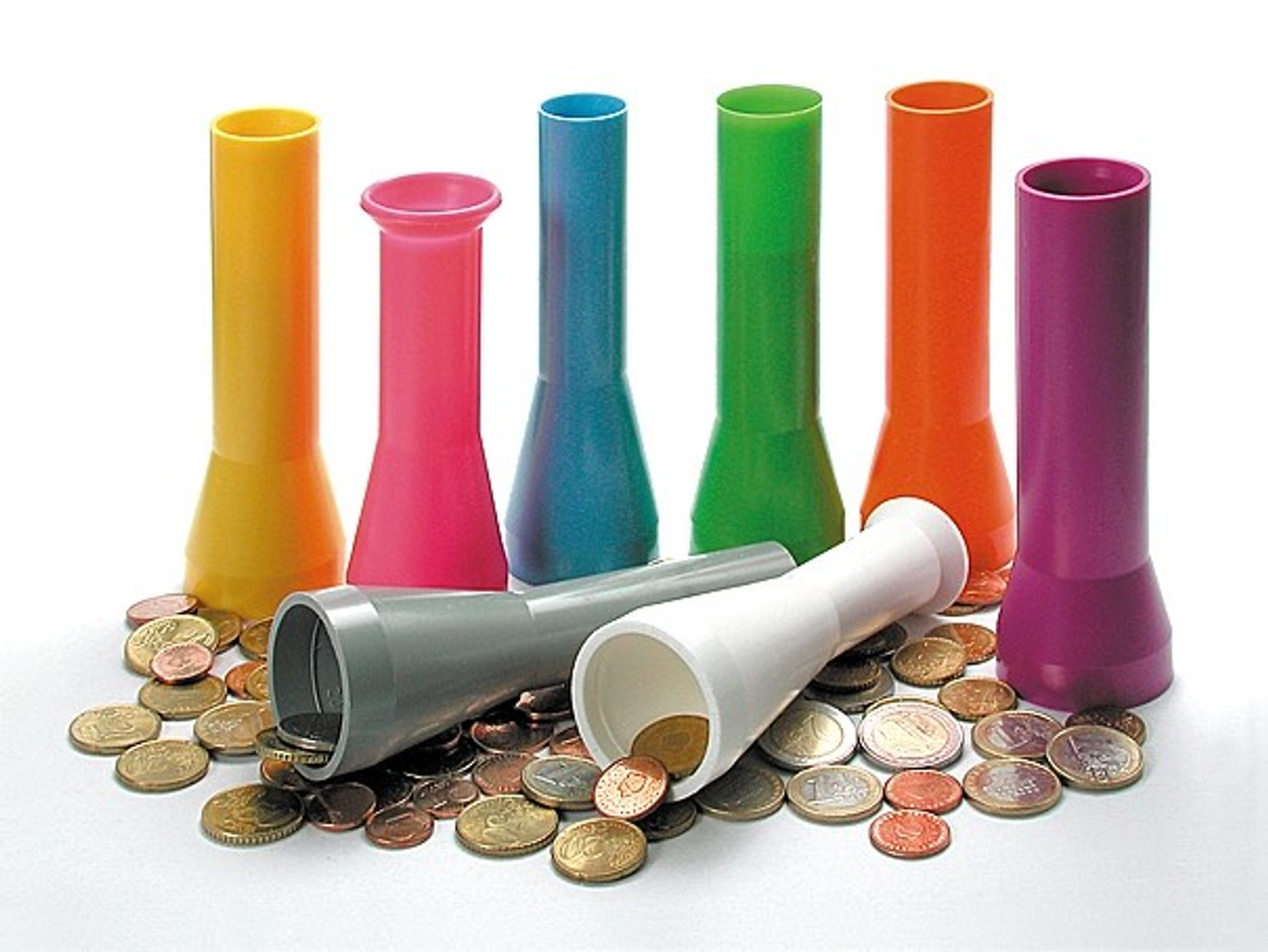 Semacon Packaging Tubes for Model S-530, U.S 1 Cent Coins
