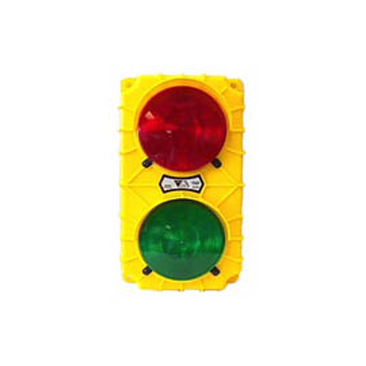 """""""Stop & Go"""" Signal Light Drone Unit.  No flasher or toggle switch; incandescent bulbs. Lights activated by customer supplied relays. 24VDC. Yellow housing."""