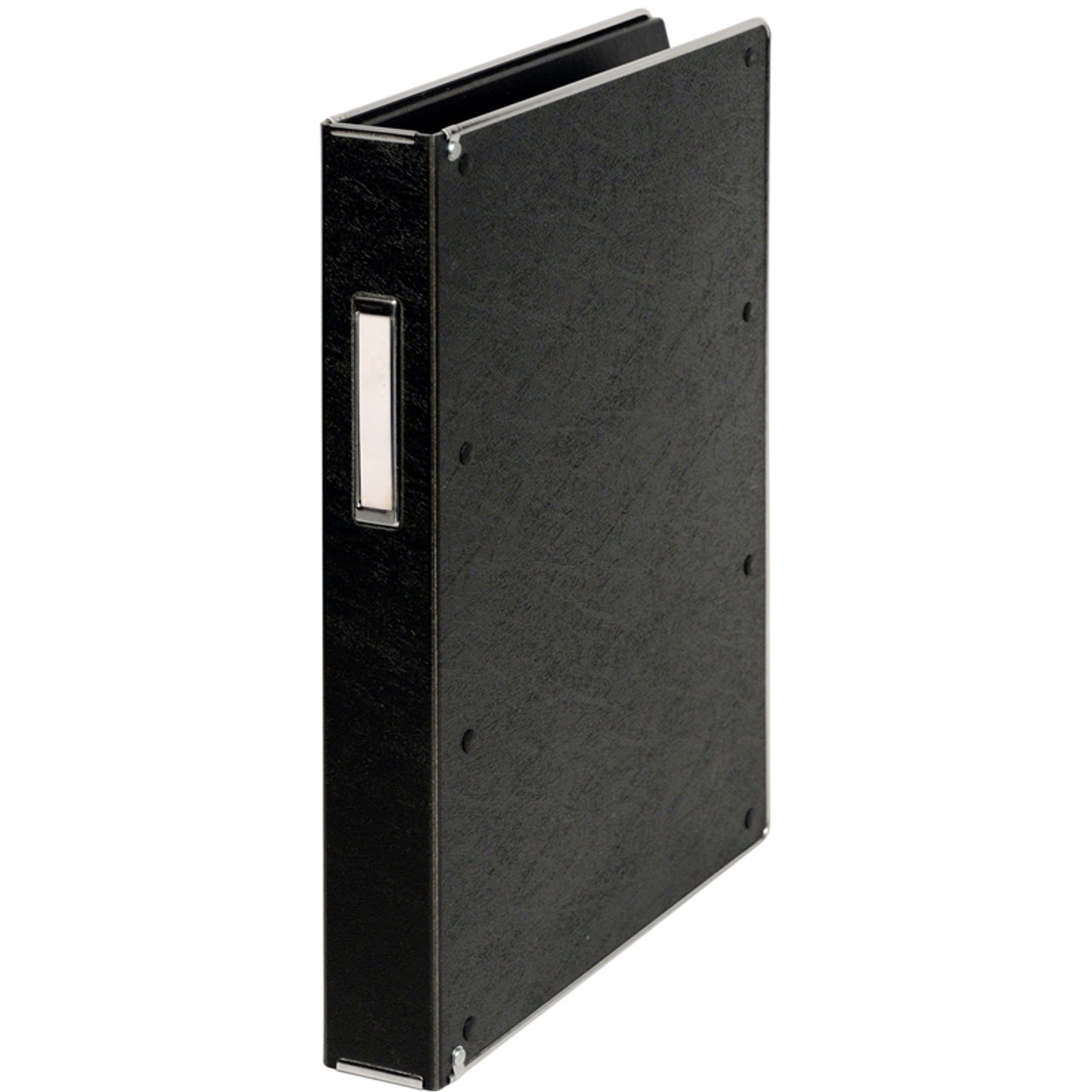"Record Book-8550-Record Book Dual Hinge For 8"" x 5"" Forms-50 Pockets"
