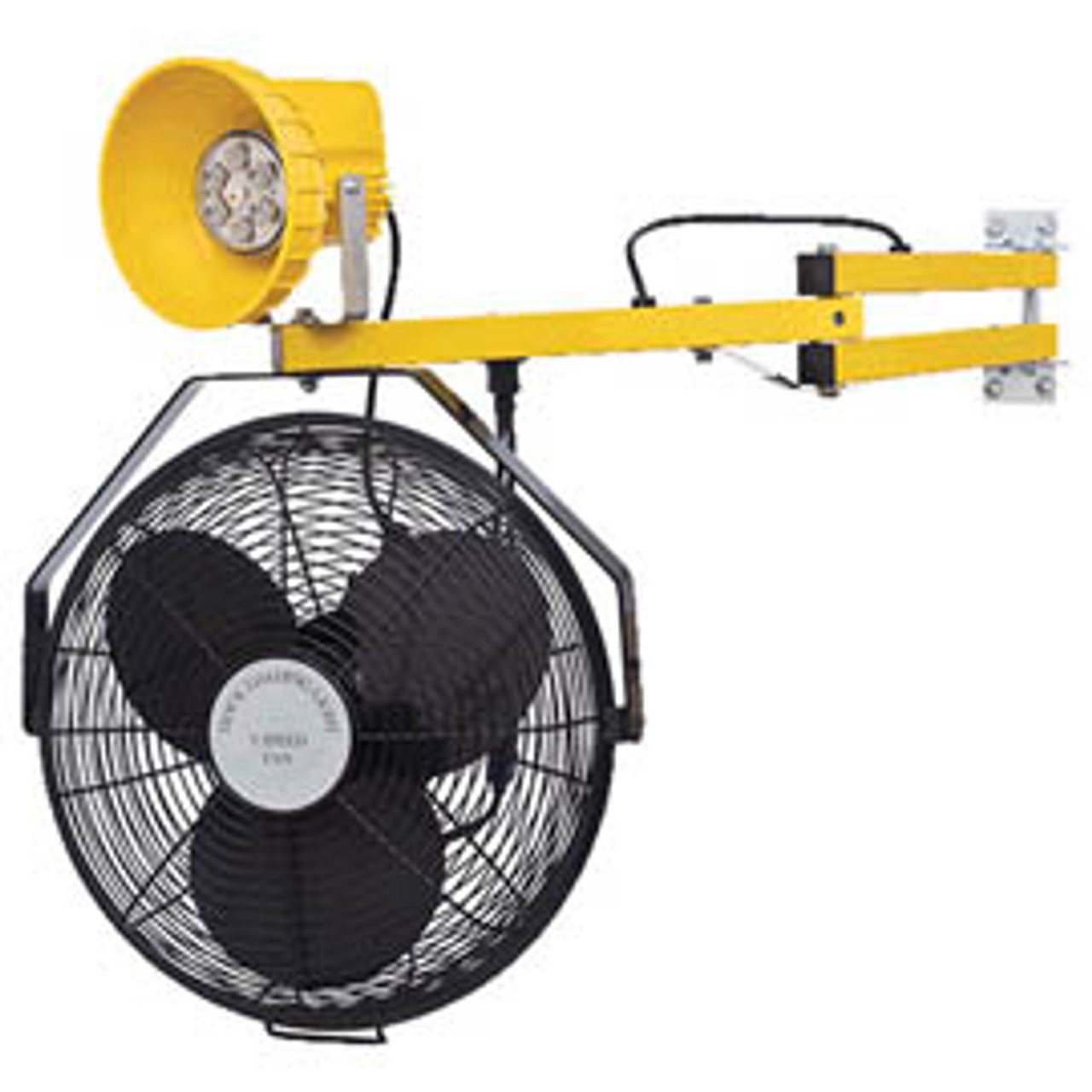 LED Module Heavy Duty 40-inch Dock Light with Fan