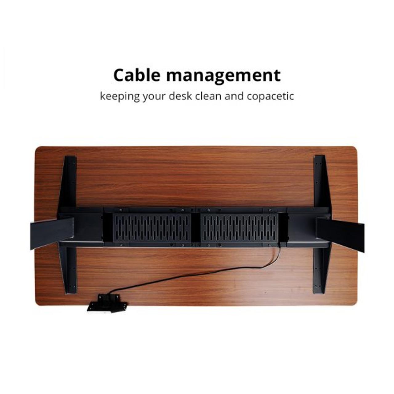 Electric Standing Desks:Inverted 3-Stage Option (Frame Only)