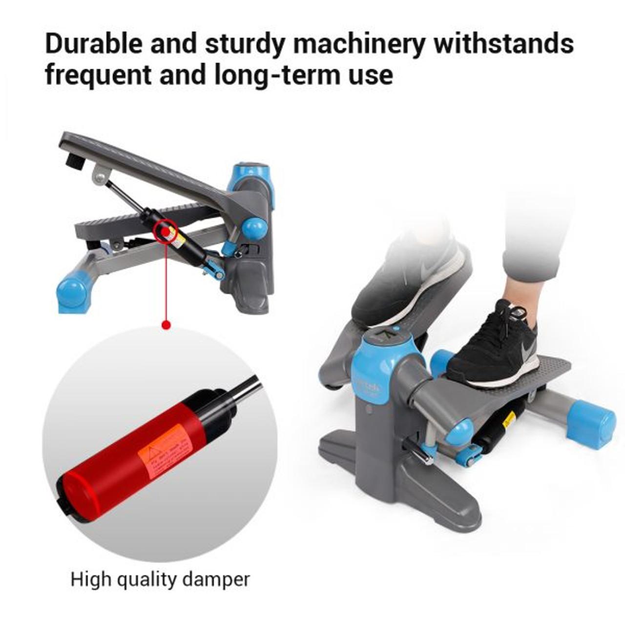 Health & Fitness Twisting Stair Mini Stepper