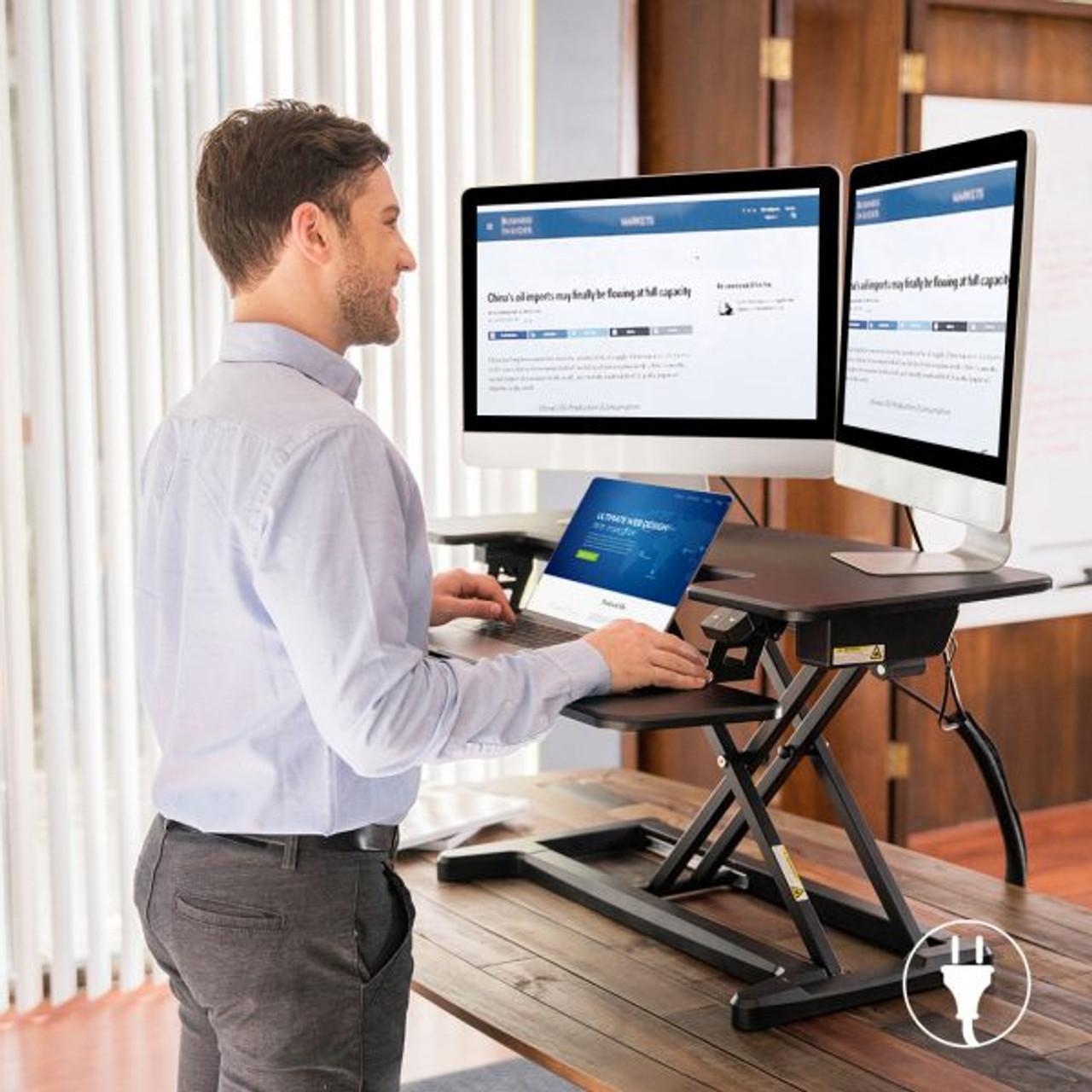 "FlexiSpot 36"" Motorized Electric Standing Desk"