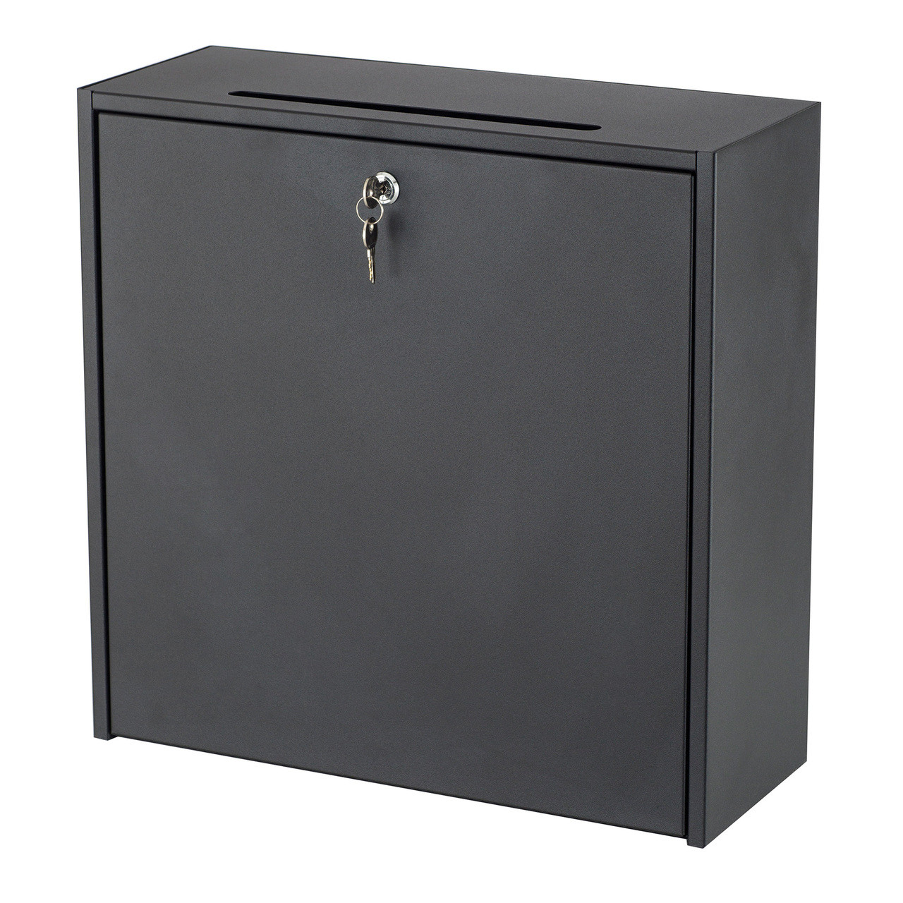"""18x18"""" Wall-Mounted Interoffice Mailbox with Lock"""