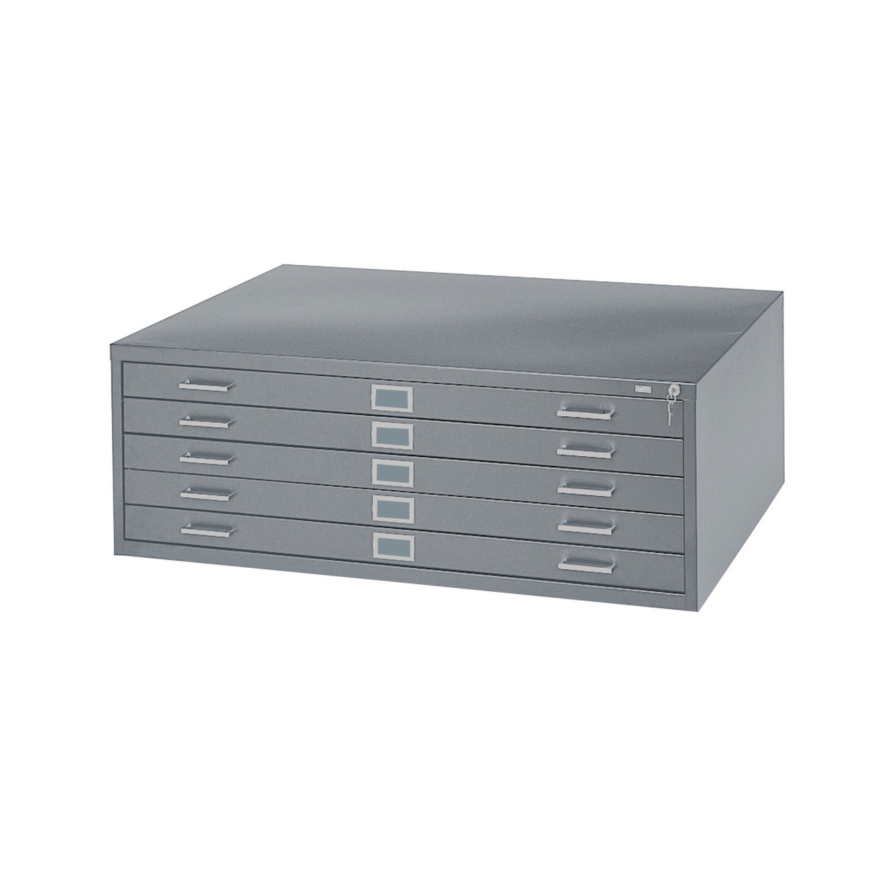 "Safco 5-Drawer Steel Flat File for 24"" x 36"" Documents"