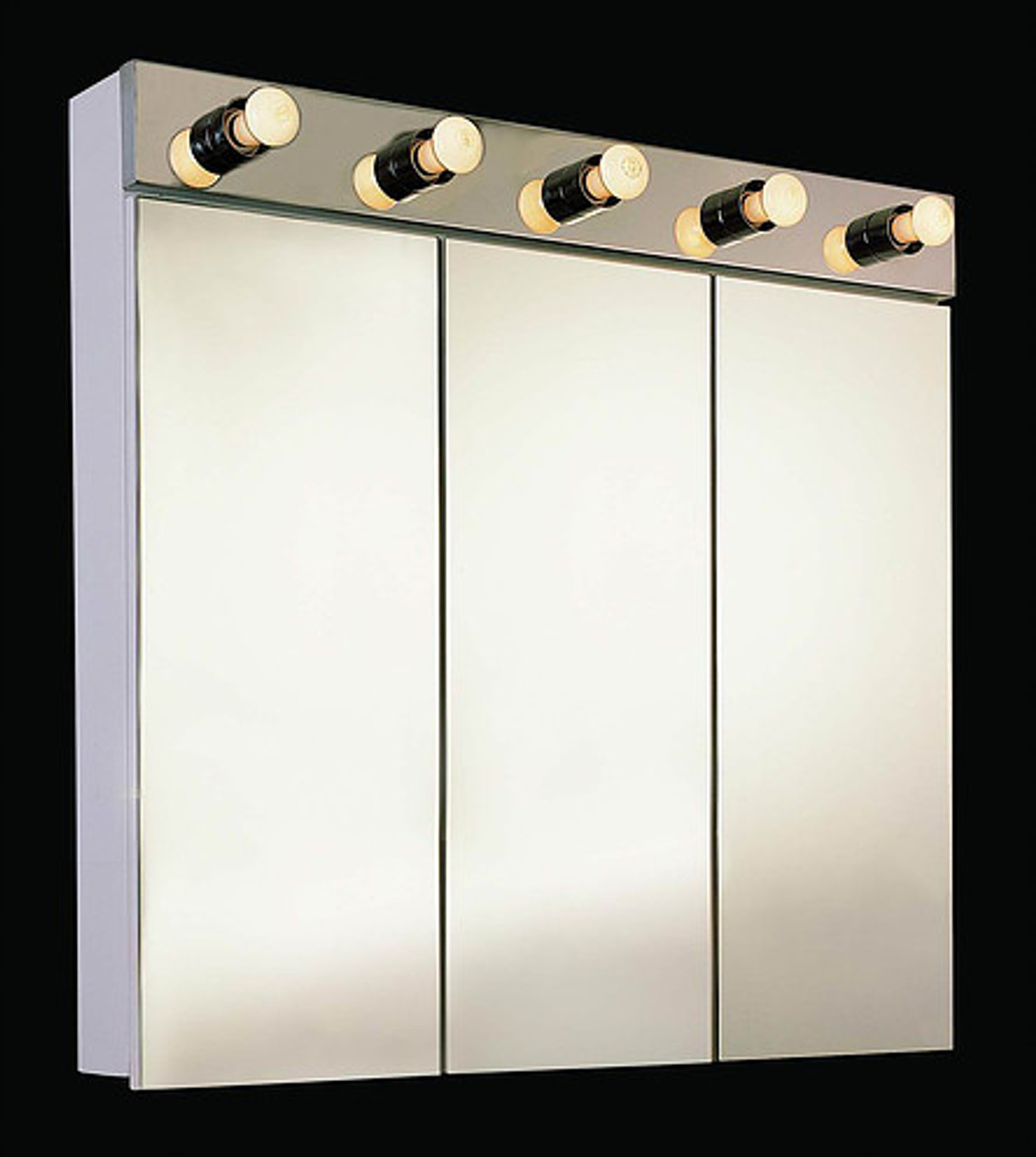 Ketcham Tri-View Medicine Cabinets Tri-View with Light Series