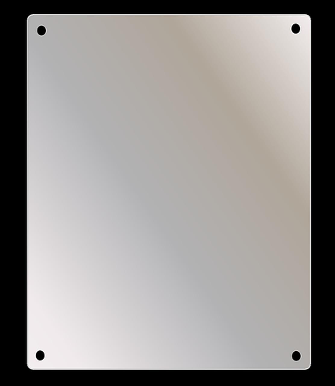 Ketcham Washroom Mirrors Series - Wall Mount Stainless Steel Mirror