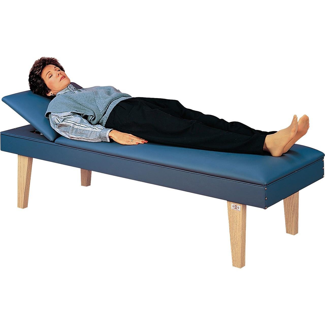 "Hausmann Recovery Couch, PVC-Free, 27""x72""x18"", Indigo Blue"