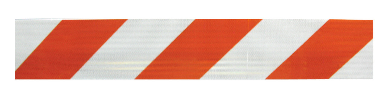 POWER POST™ TYPE III BARRICADE KITS - 8' Boards with HIP Sheeting ONE SIDE OF BOARDS