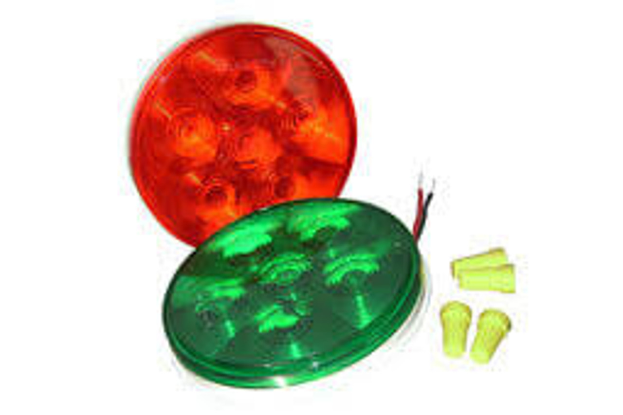 TriLite Replacement LED Lamp Kit (Set of 2-Red & Green) 12VDC