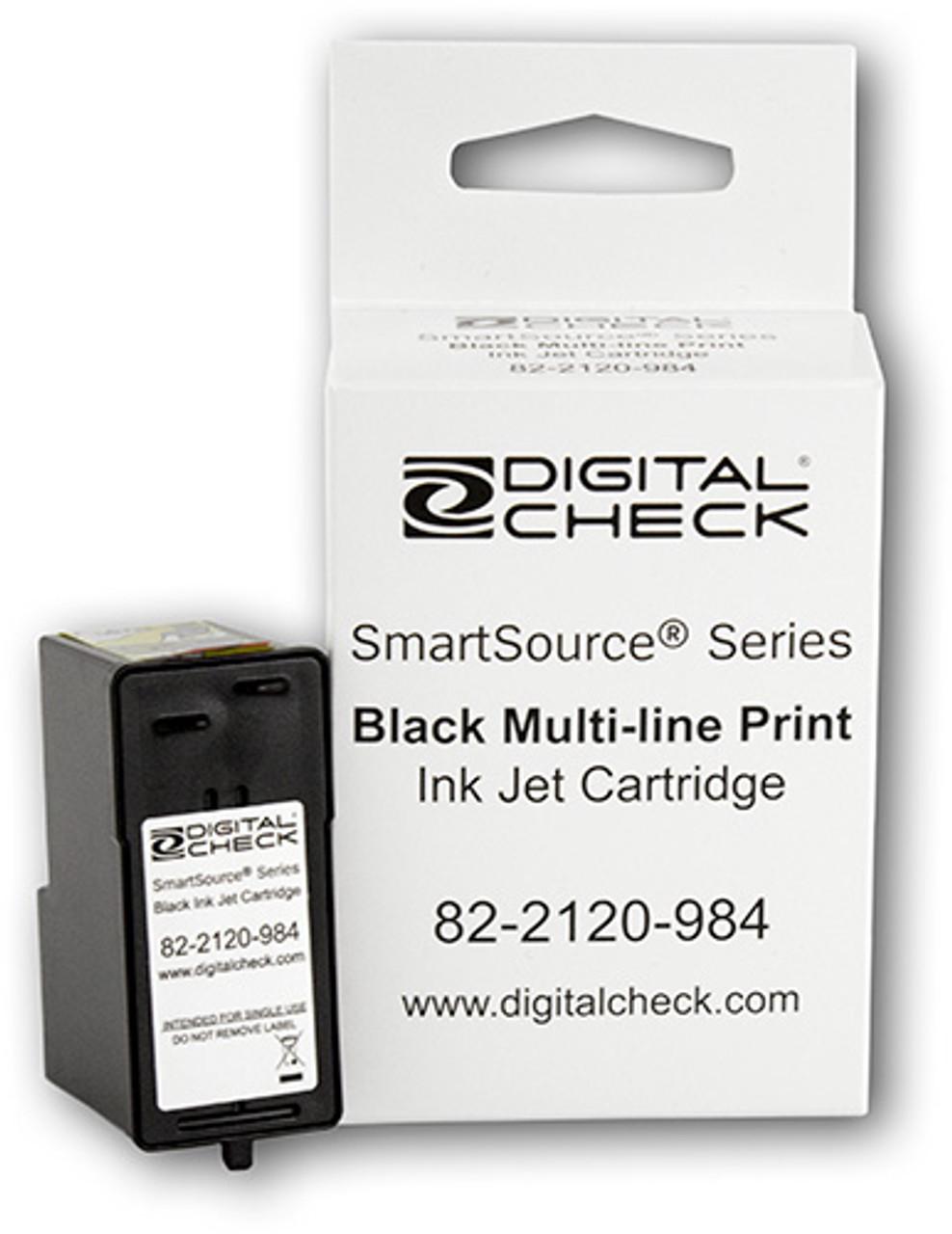Original Genuine Digital Check Ink Cartridges (Box of 12)