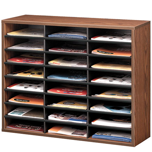 Literature Organizer - Compartment Sorter