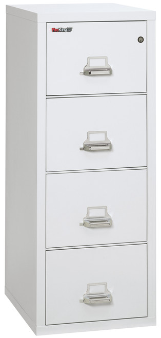 FireKing Four-Drawer Vertical File, 20-13/16w x 25d, UL 350 for Fire 25-4-2125