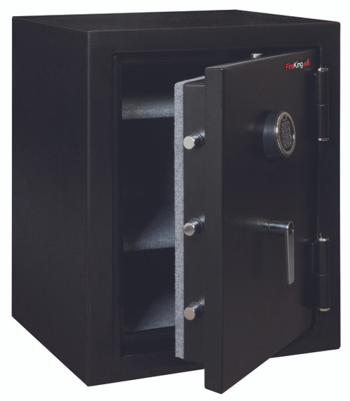 Fire King International KF2418HBLE Half Hour Fire and Water Safe 4.02 ft3 21-3/5 x 19 x 27-1/4 Black