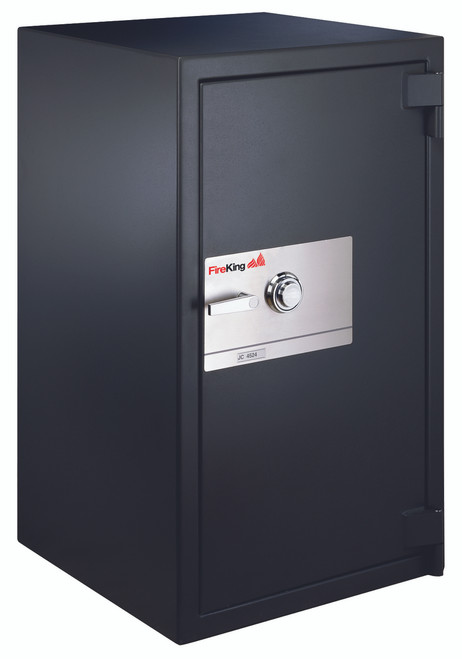 FireKing 1-Hour Fireproof 36.7 cu. ft. Burglary Security Safe, Dial Combination Lock JC7233-ZGR