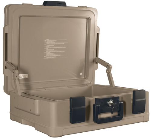 Fireking Fire and Waterproof Chest 0.38 ft3 19-9/10w x 17d x 7-3/10h Taupe SS104