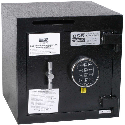 "FireKing Electronic Lock 1.16 Cu. Ft. ""B"" Rated Deposit Safe"