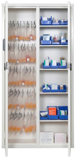 FireKing School Medical Solutions Cabinet-72MSC-ELRWT