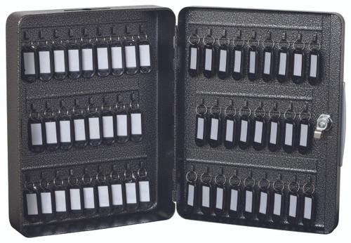 "FireKing® KK0902-52 Hercules Key Cabinet, Keylock, 9""W x 3""D x 11-7/8""H, 52 Keys"
