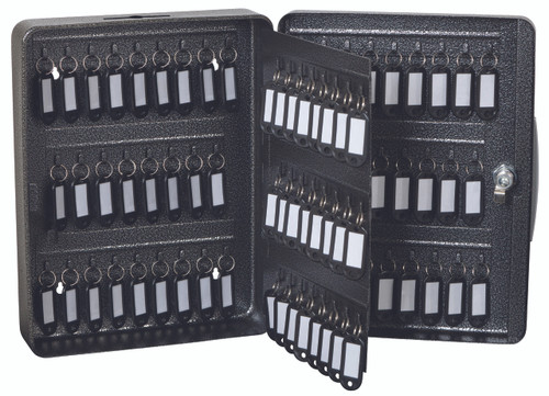 "FireKing® KK0903-100 Hercules Key Cabinet, Keylock, 9""W x 3""D x 11-7/8""H, 100 Keys"
