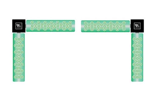 Trilite TopDok LED Communication System LED Corner Light Set