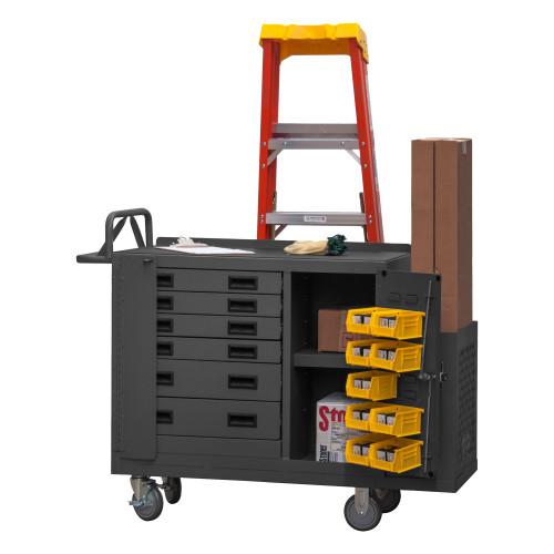 Durham Maintenance Cart 2211-DLP-6DR-RM-9B-95